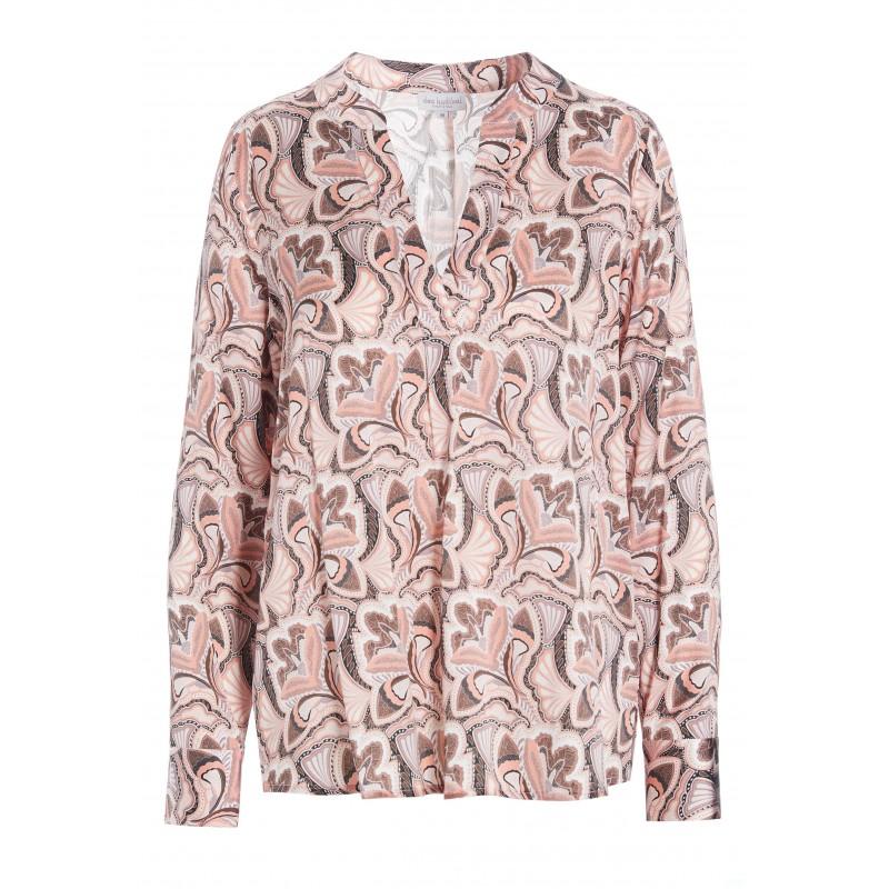 SANTENA Shirt - Trellis Coral