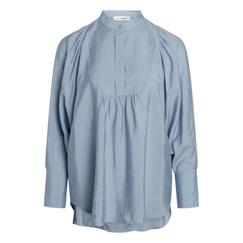 Callum Volume Shirt - Pale Blue