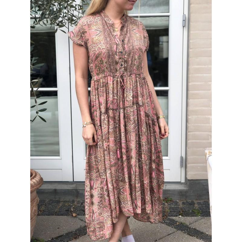 LUNA MAE DRESS ROSE IVORY