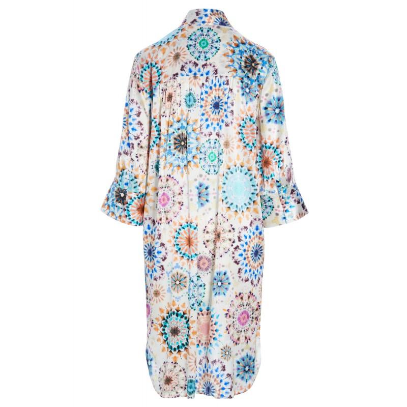 KAMILLE Kaleidoscope Dress - Dea Kudibal