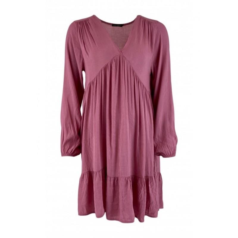 Val Shiny Midi Dress