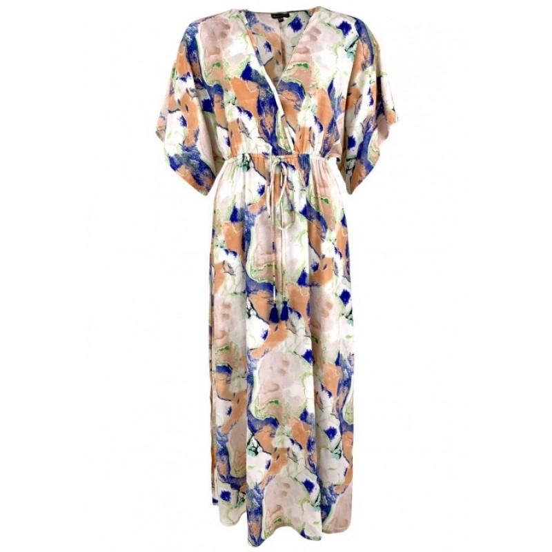 Marble Peach Dress
