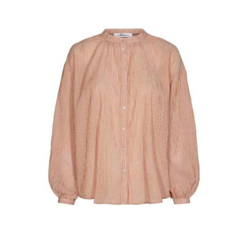 Celina Stripe Shirt Amber