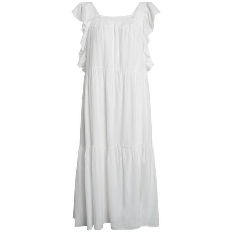 Sunrise smock dress - off white