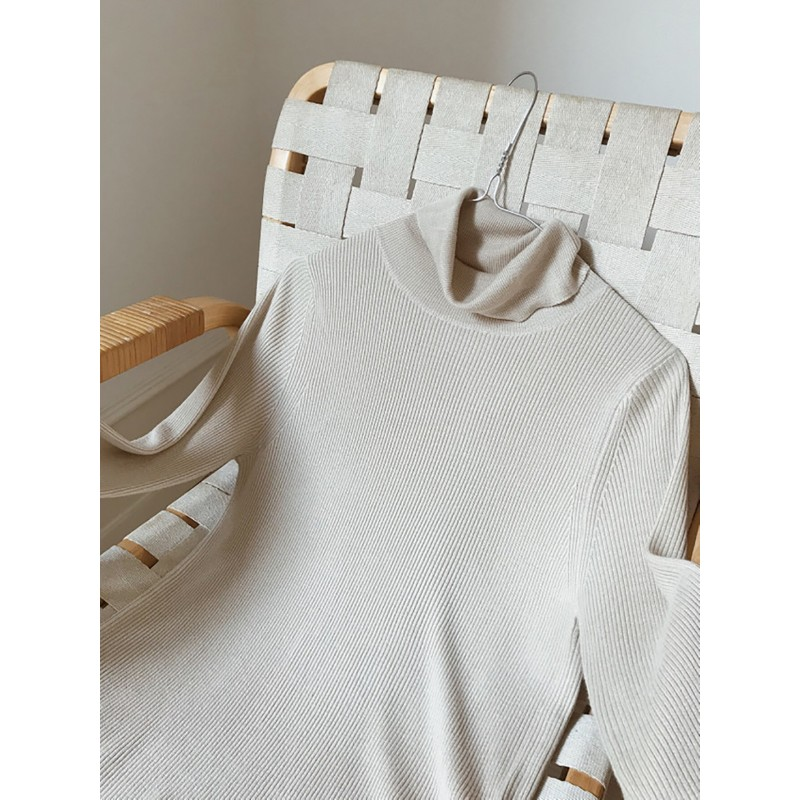 Thin Rippeb Turtleneck Peoples Republic Of Cashmere