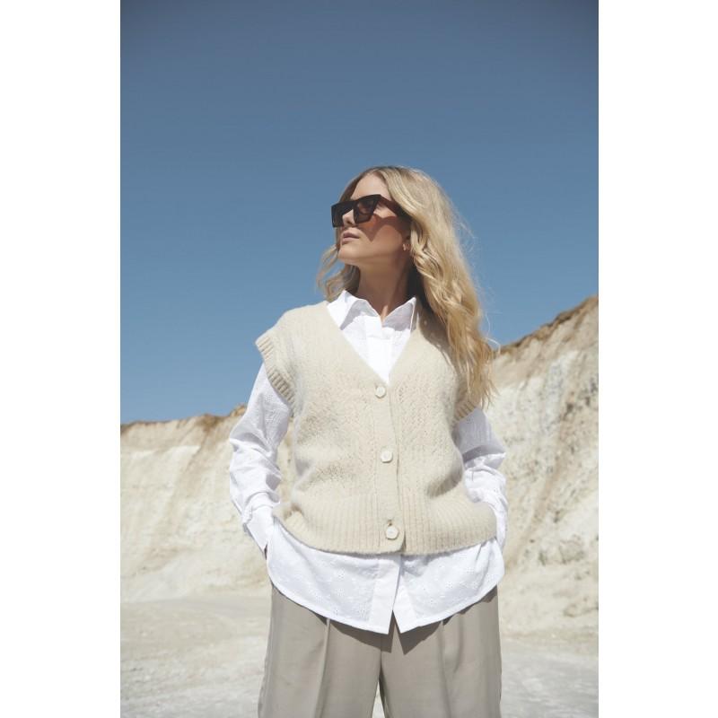 JaclynHBS Shirt - White - KOMMER SNART