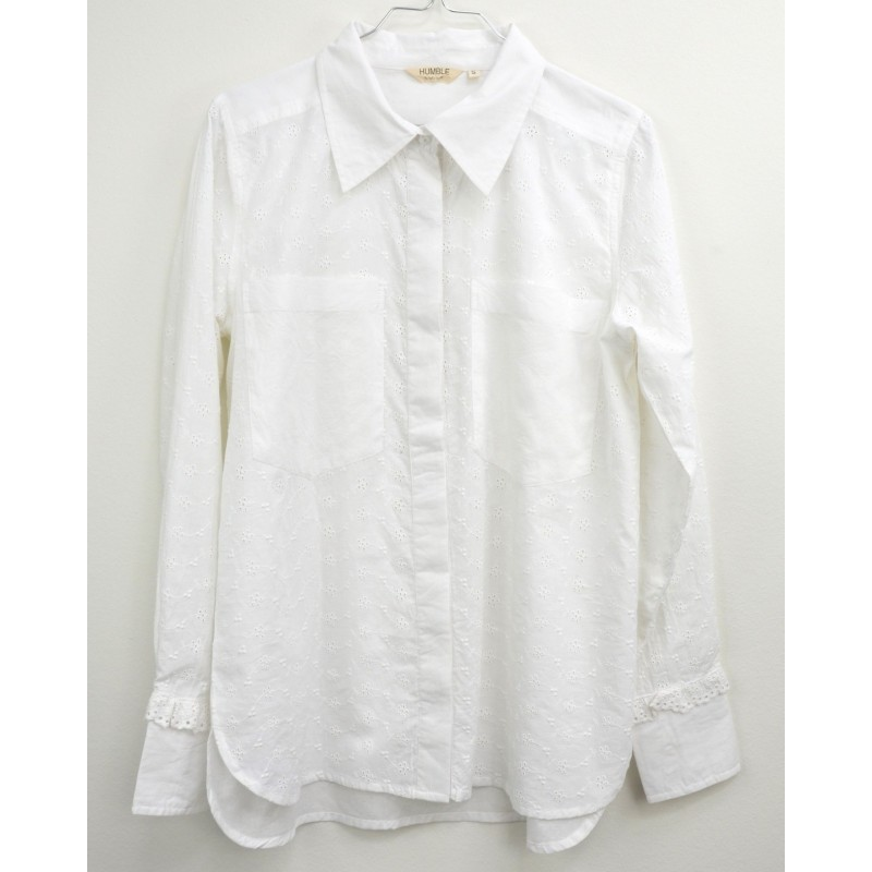 JaclynHBS Shirt - White Humble By Sofie