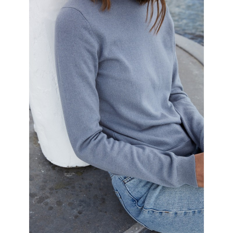 Womens Roundneck - Oyster