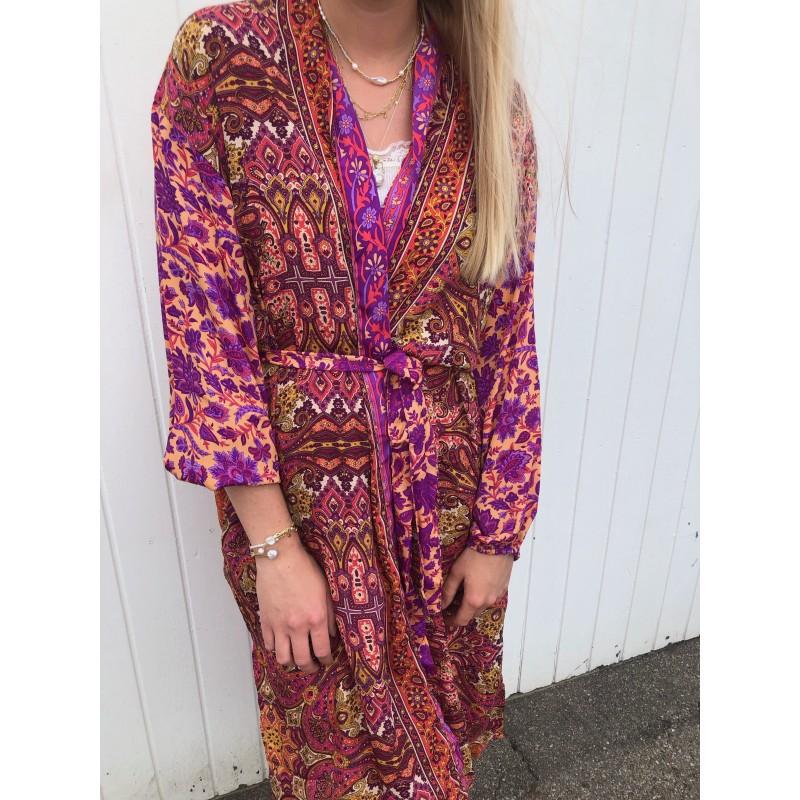 Luna Long Kimono