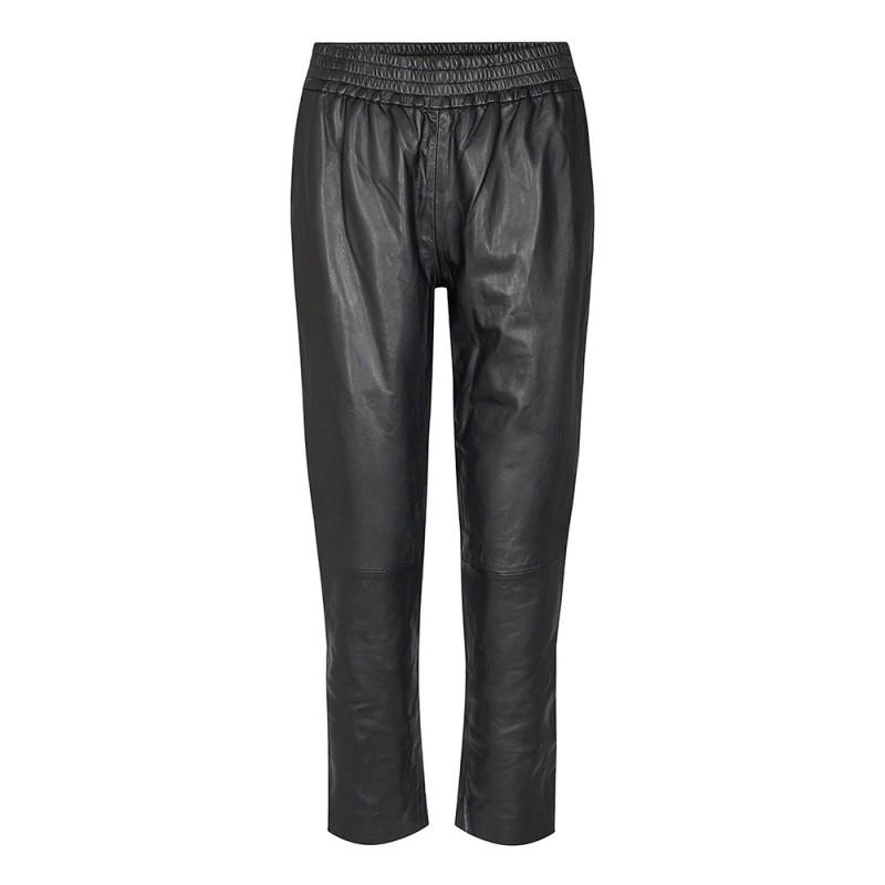 Shiloh Crop Leather Pants