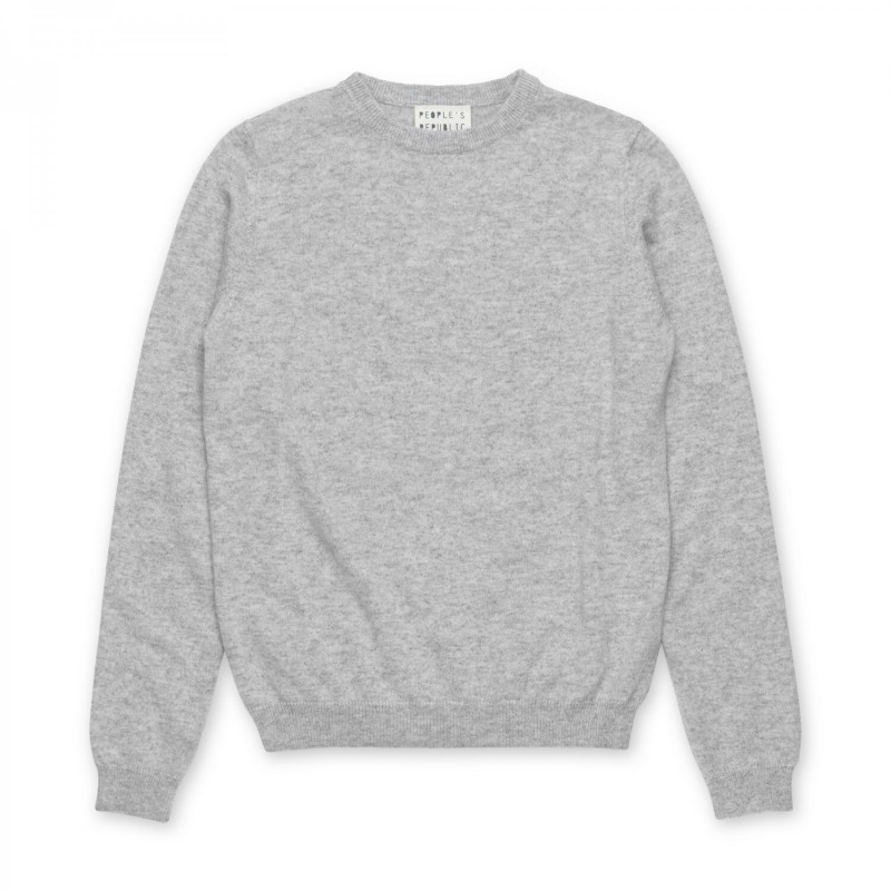 Womens Roundneck - Ash grey