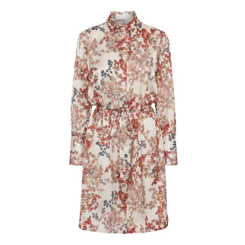 Nakita Dress - Melange Ivory