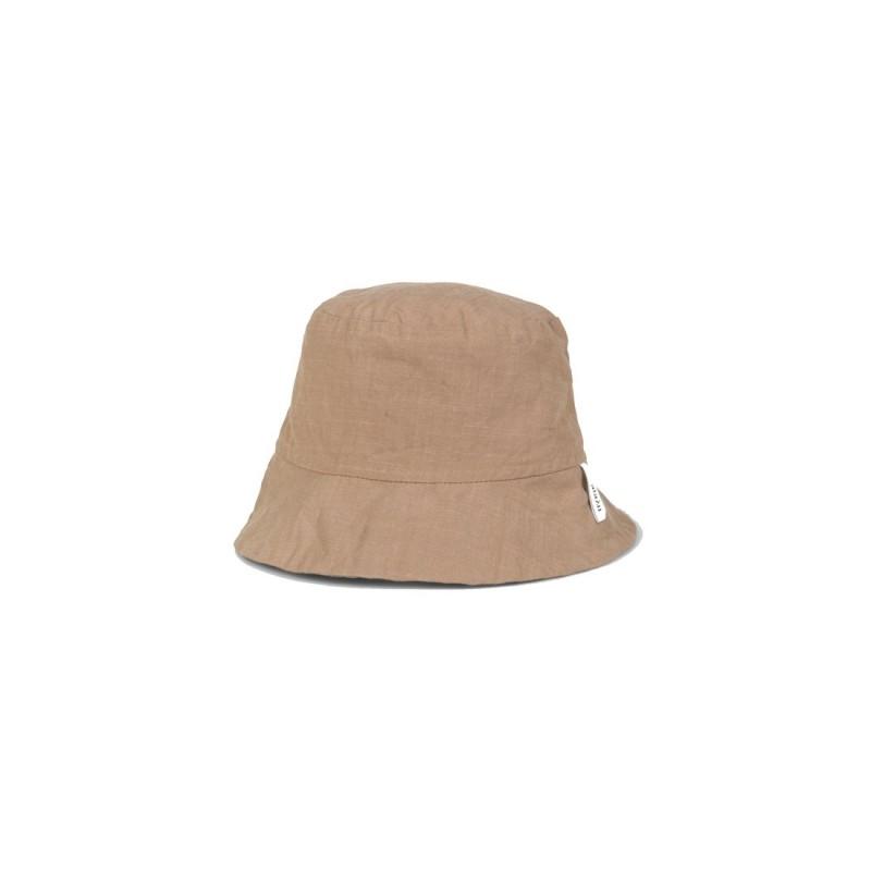 Nina Hat Cotton Slub - Light Tabacco