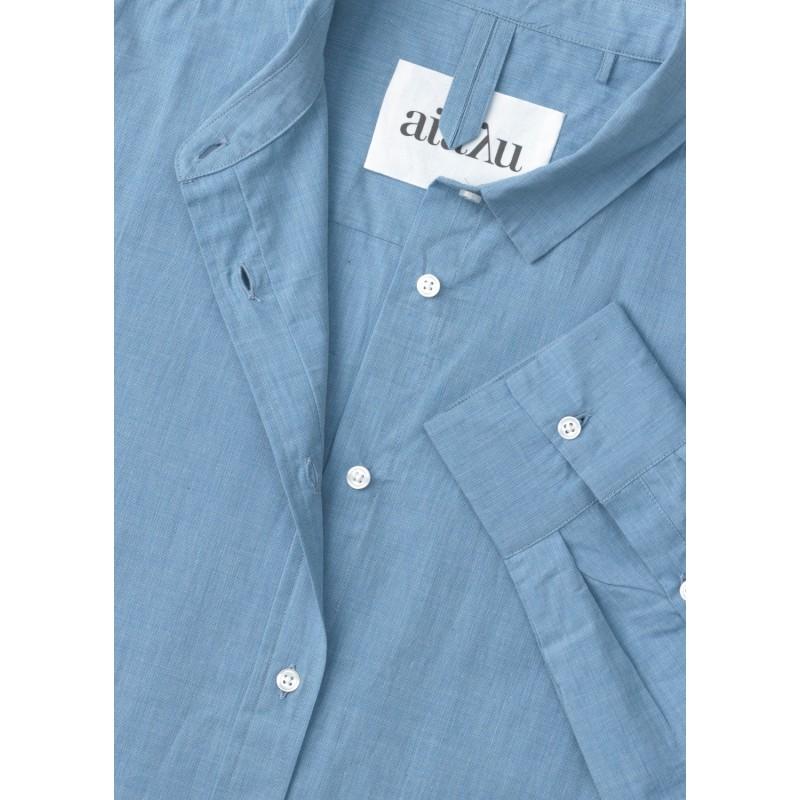 1407 Shirt - Deep Blue AIAYU