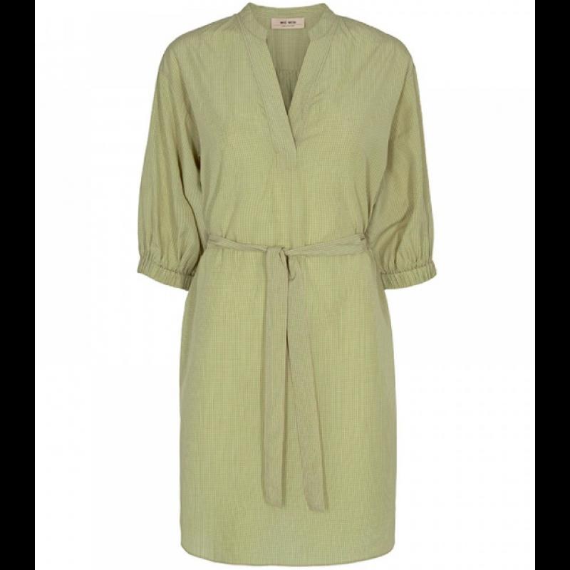Adine Mini Check Dress