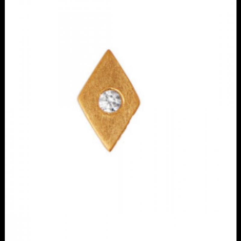 PETIT HARLEKIN EARRING PIECE GOLD