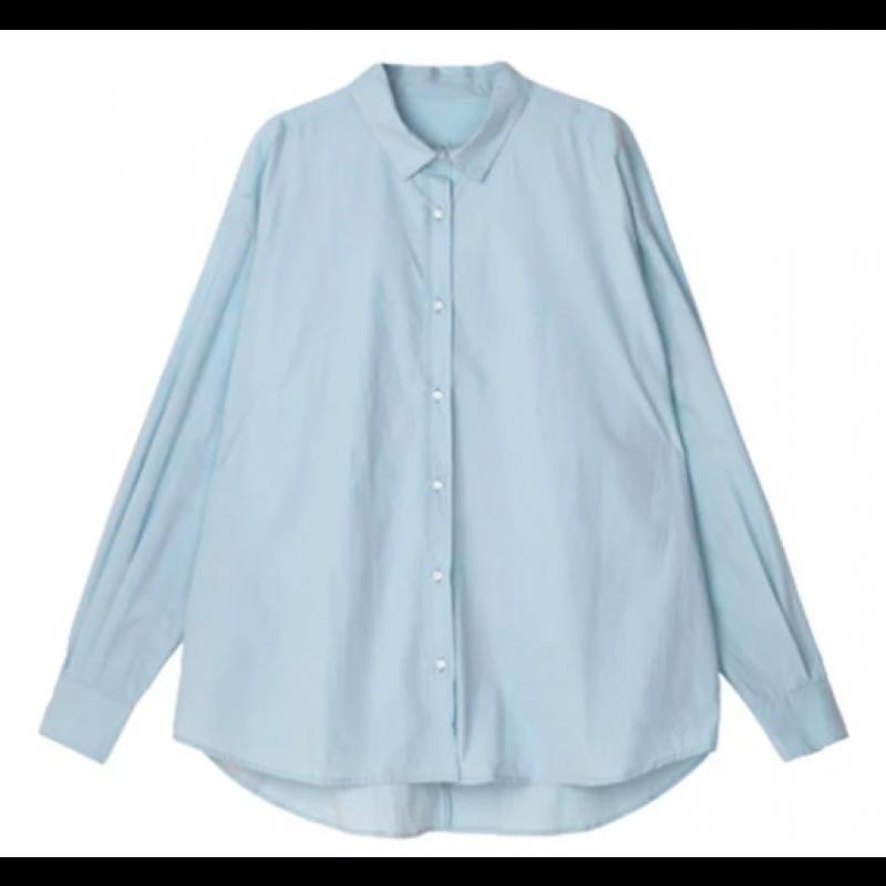 1407 shirt - Blue Glass