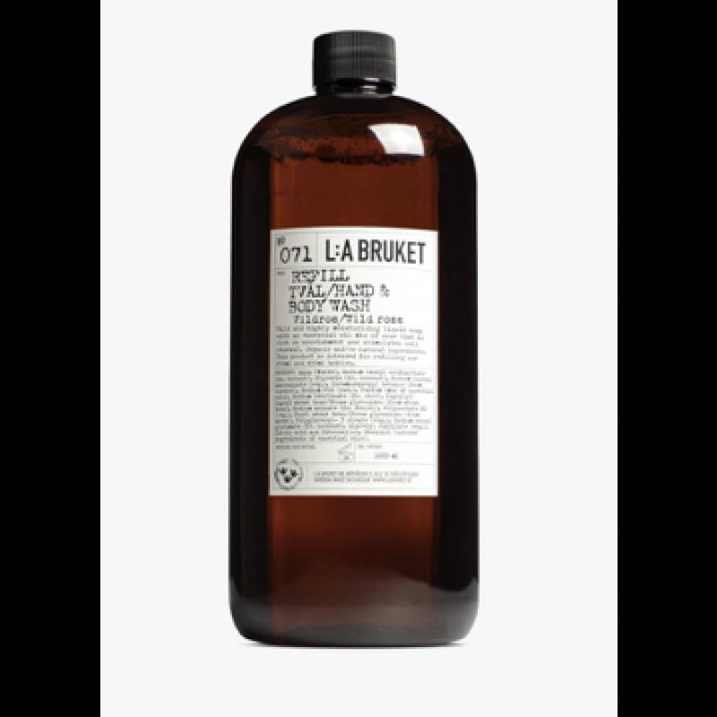 No. 071 Refill, Tvål/Hand & Body Wash Vildrose