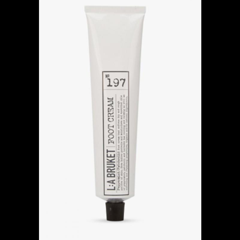 No. 197 Foot Cream, Peppermint/patchouli