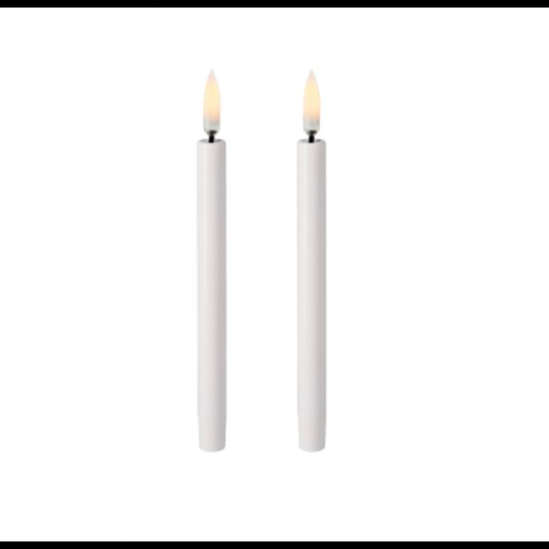 Christmas Taper Candles (2 pakker)