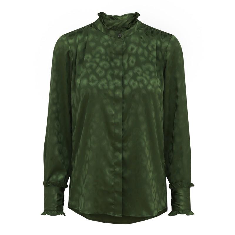 Trinity Shirt – Cactus Leo Jacquard