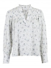 Nellie Sprinkle Flower Shirt Neo Noir