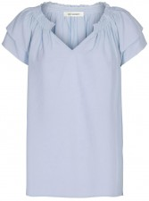 Sunrise Top - pale blue Co'Couture