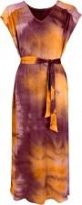Dakota SS Satin Dress - Ruby Black Colour
