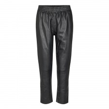 Shiloh Crop Leather Pants Co'Couture