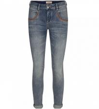 Naomi Ida Shade Regular Jeans - Blue fra Mos mosh