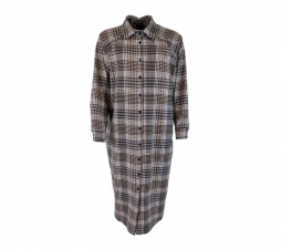 Køb Irna Long Shirt fra Black Colour i Tamarind