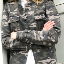 Camouflage Army JacketBy Mickleit