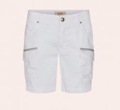 Camille Cargo Shorts - white Mos Mosh