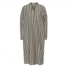 Oats Dress Linen Stripe Costa Mani