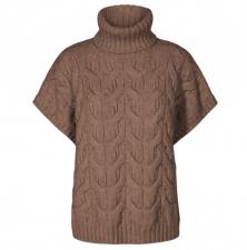 co'couture Jenesse Cable Knit Vest