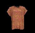 Luna s/s Blouse - Golden Coral