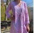 Long Goa Lilac Dress
