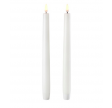 Taper LED Candle 2,4 x 25,2 cm (Twin Pack)