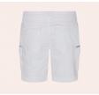 Camille Cargo Shorts - white