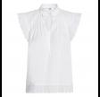 Prima Pintuck Top - White